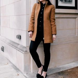 J. Crew Lodge Coat in Acorn